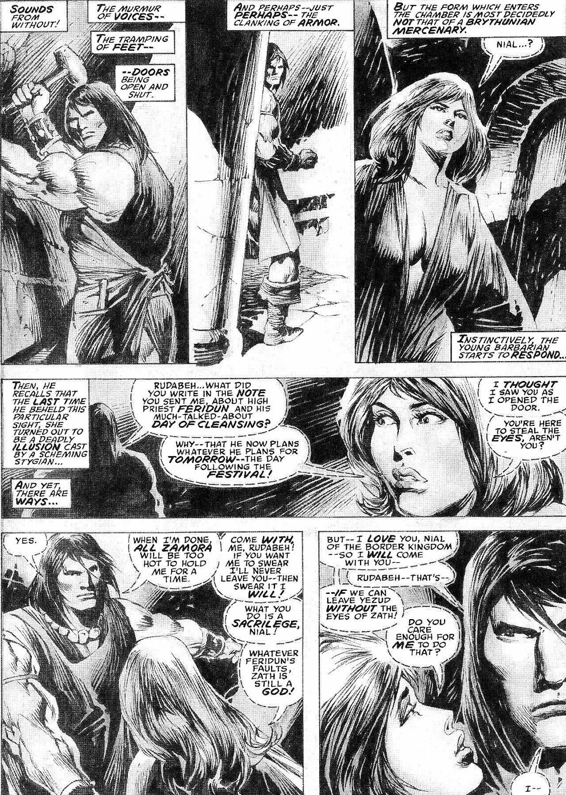 The Savage Sword Of Conan Issue #210 #211 - English 16