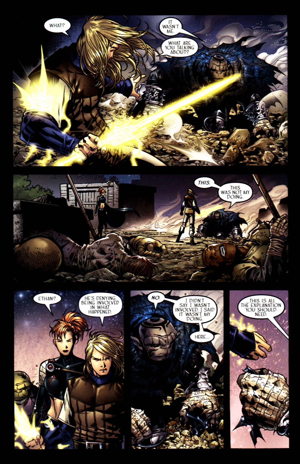 Read online Scion comic -  Issue #16 - 10