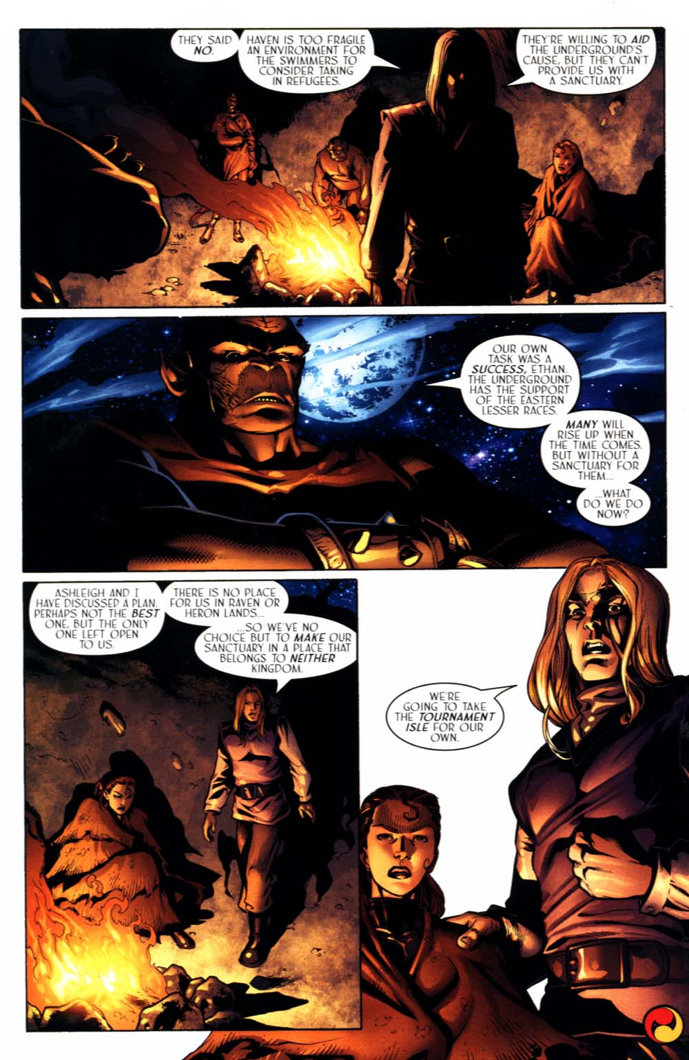 Read online Scion comic -  Issue #22 - 28