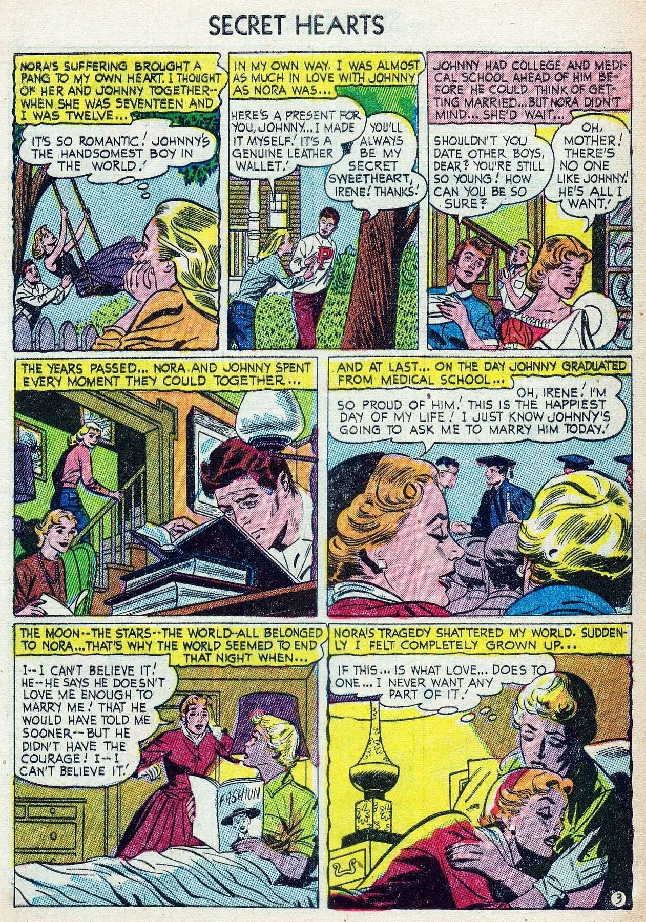Read online Secret Hearts comic -  Issue #25 - 5