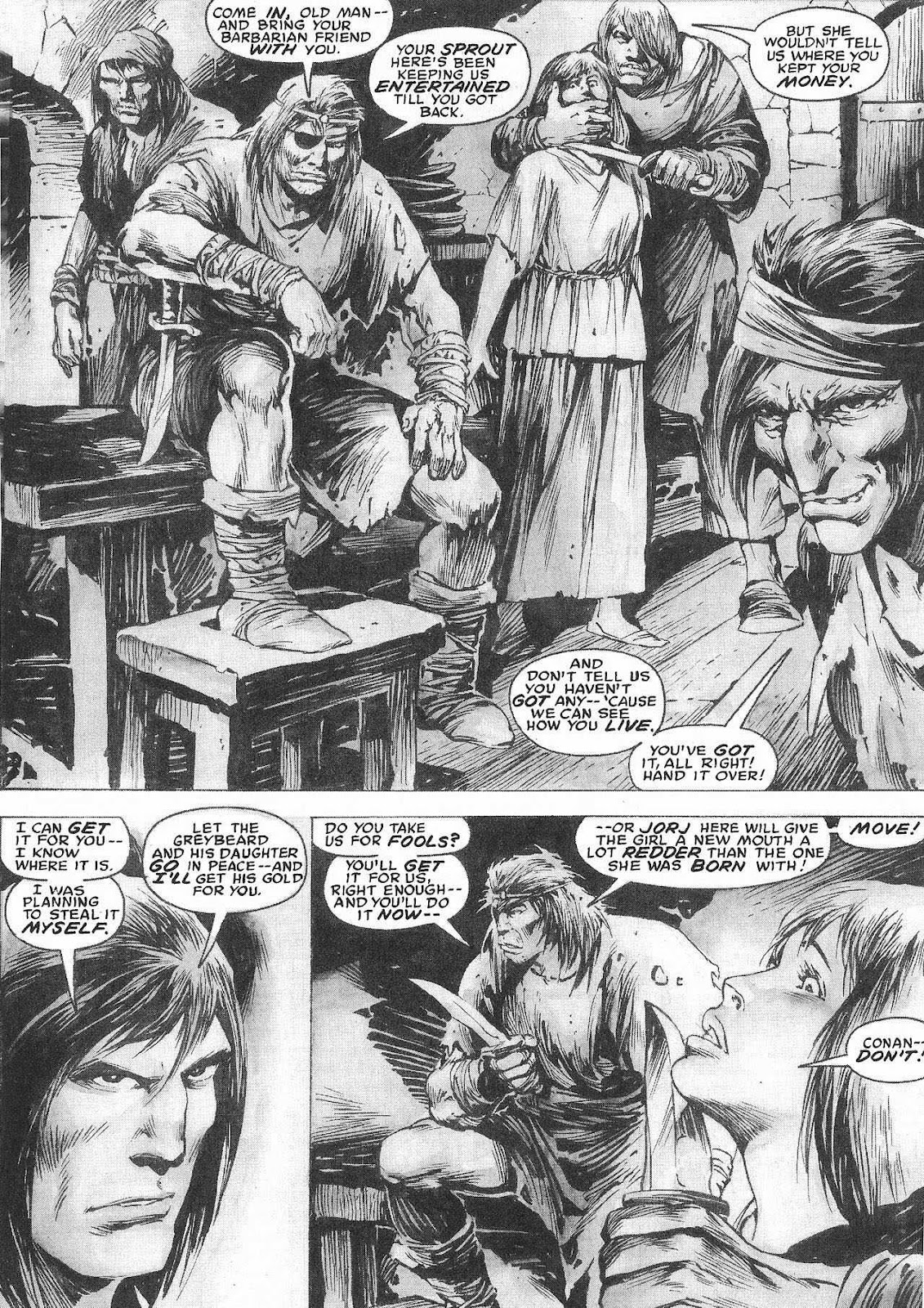 The Savage Sword Of Conan Issue #207 #208 - English 45