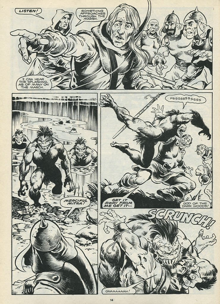 The Savage Sword Of Conan Issue #172 #173 - English 16