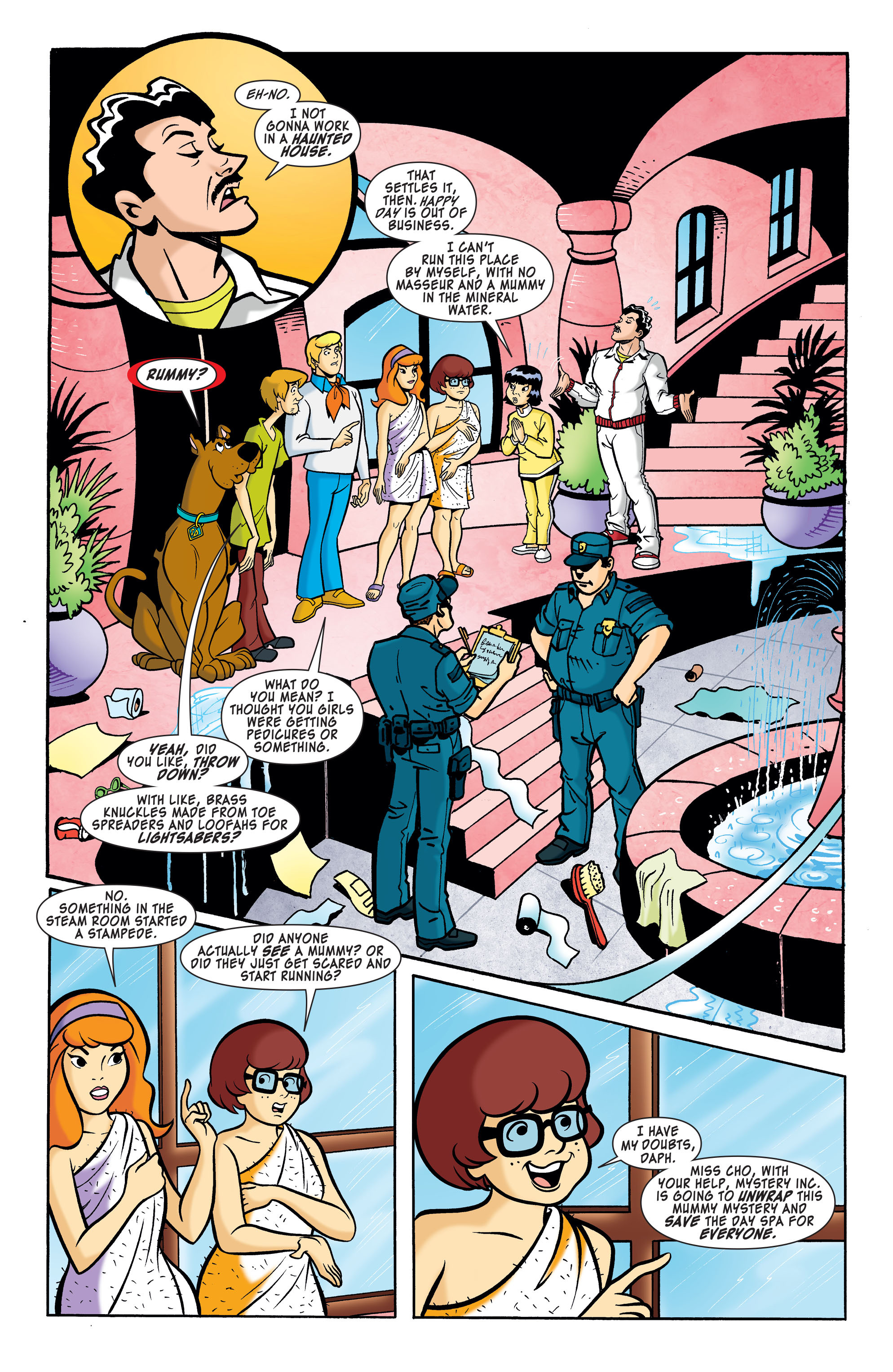 Read online Scooby-Doo: Where Are You? comic -  Issue #62 - 6