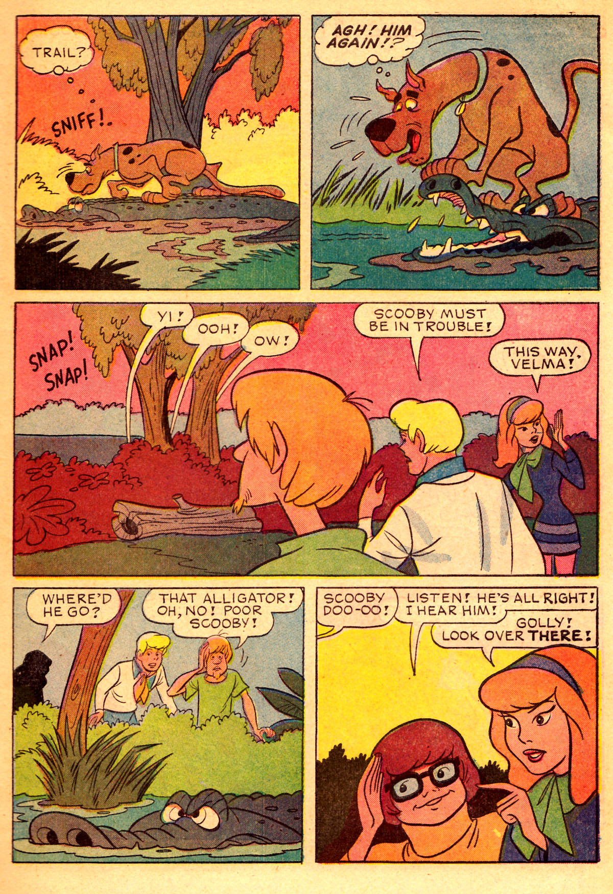 Read online Scooby-Doo... Where Are You! (1970) comic -  Issue #2 - 6