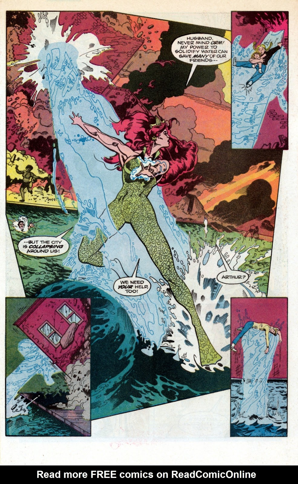 Aquaman (1986) Issue #1 #1 - English 9