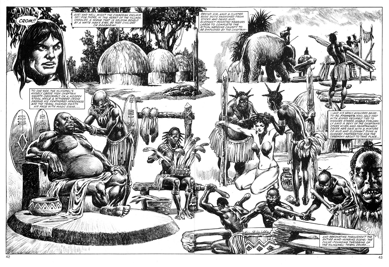 The Savage Sword Of Conan Issue #89 #90 - English 42
