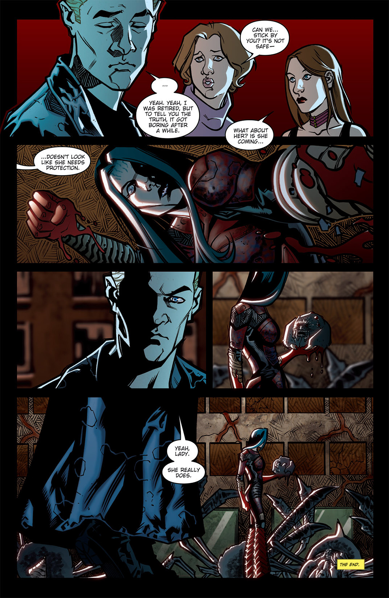 Angel: After The Fall 6 Page 11
