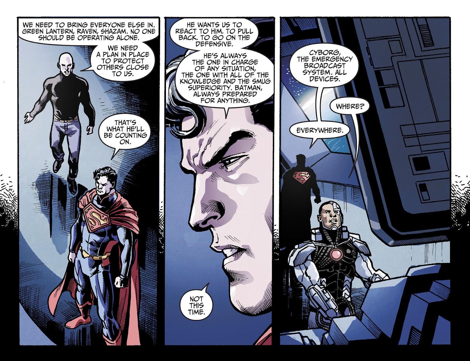 Injustice: Gods Among Us [I] Issue #28 #29 - English 6