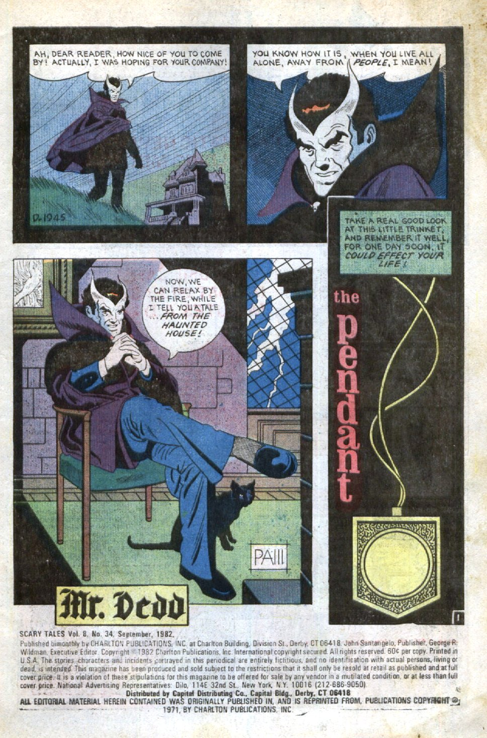 Read online Scary Tales comic -  Issue #34 - 3