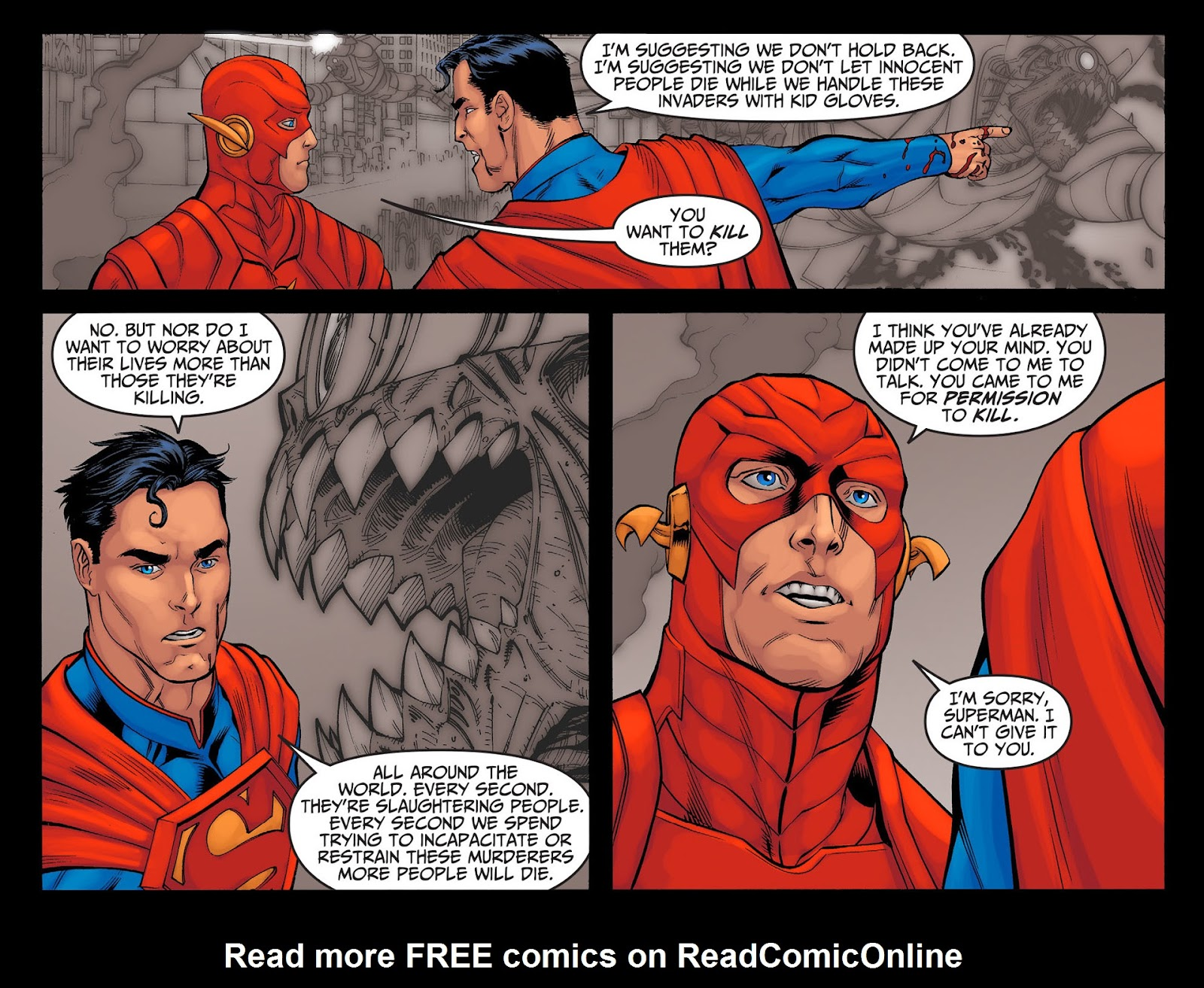 Injustice: Gods Among Us [I] Issue #24 #25 - English 13