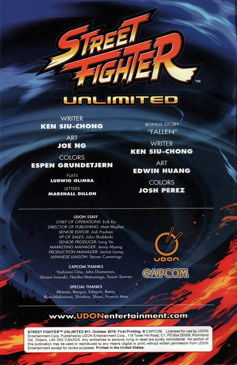 Street Fighter Unlimited Issue #11 #13 - English 4