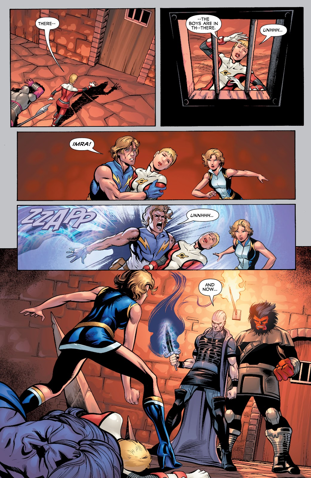 Legion of Super-Heroes (2010) Issue #4 #5 - English 14