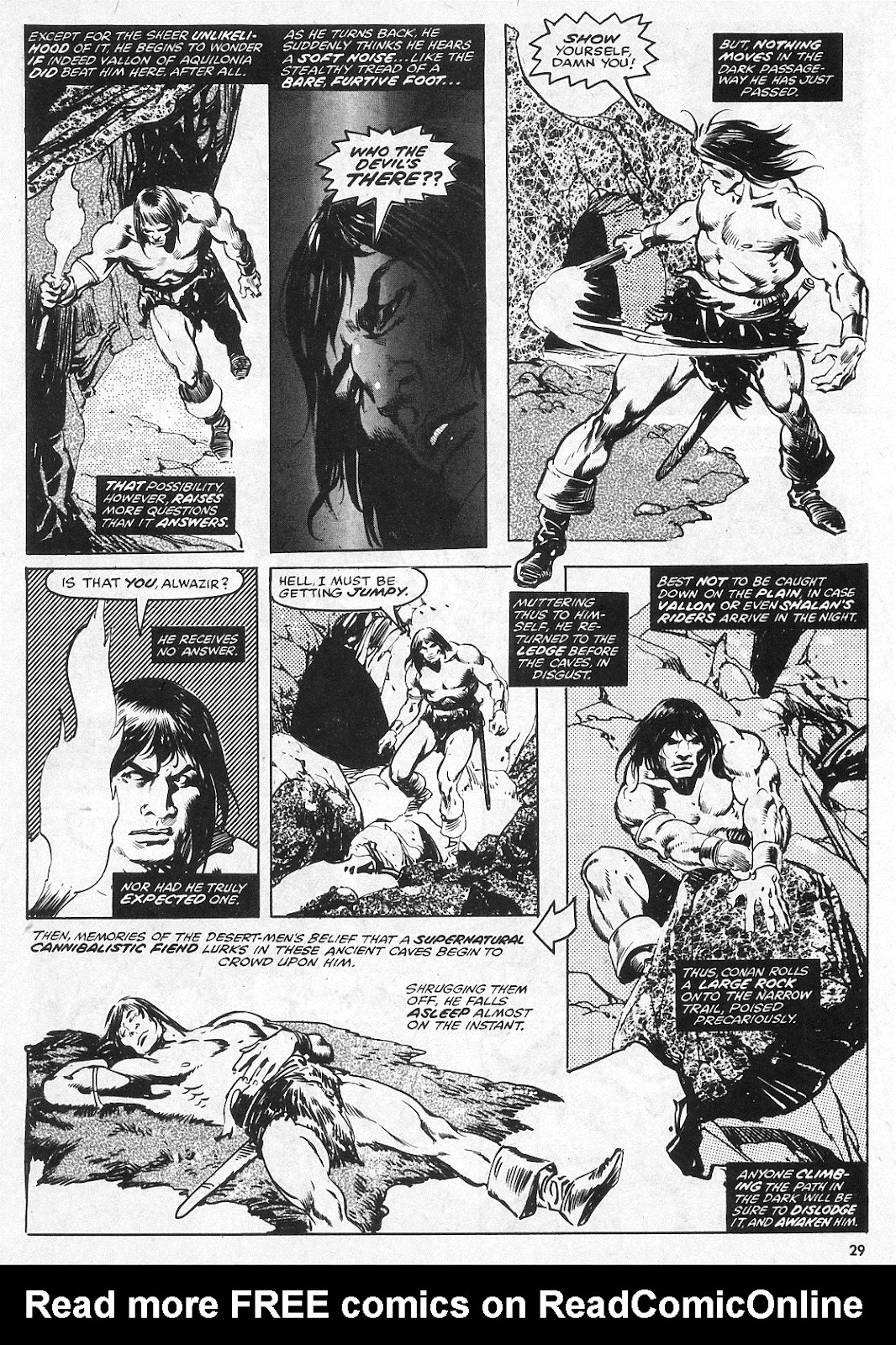 The Savage Sword Of Conan Issue #28 #29 - English 29
