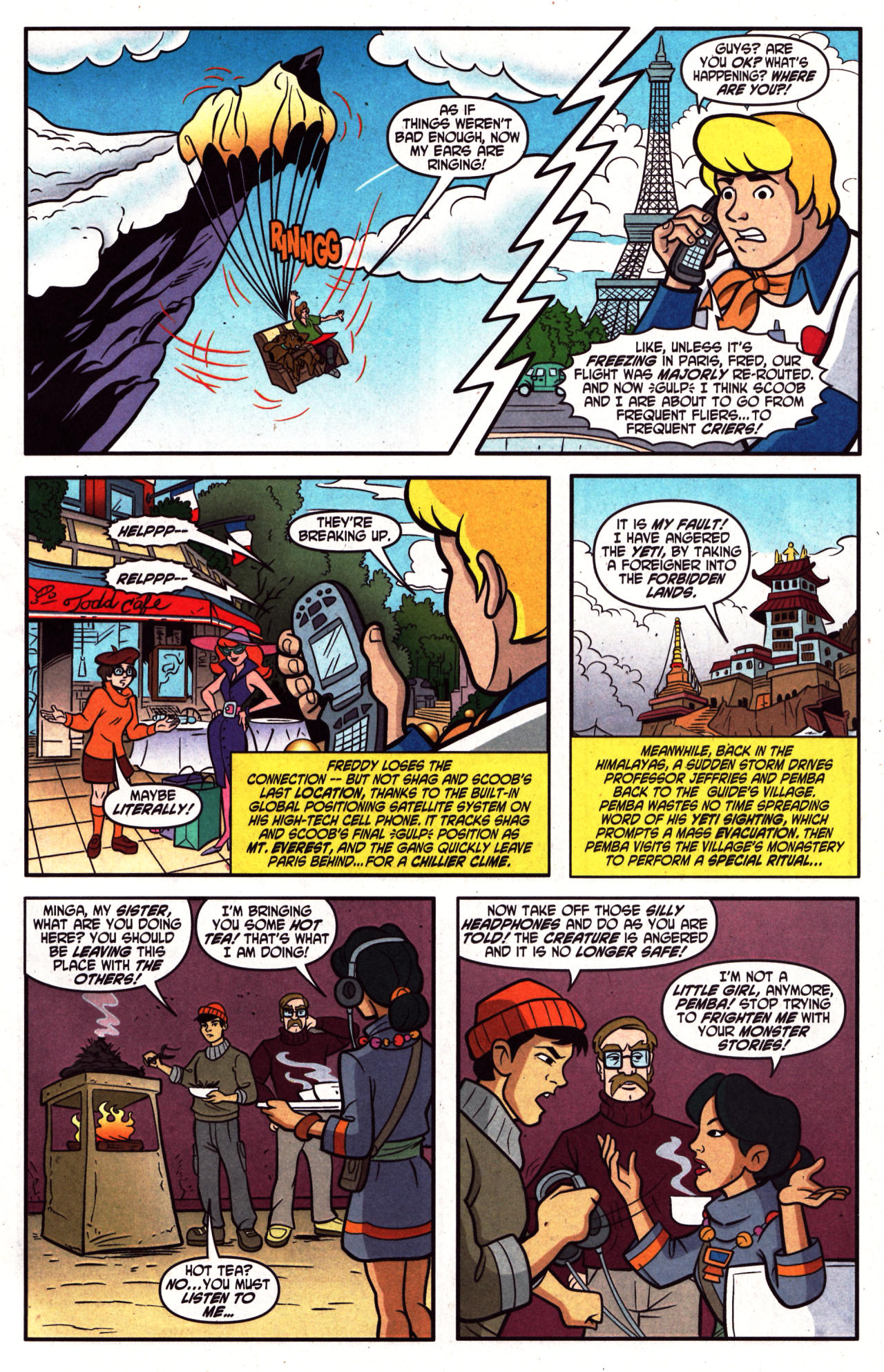 Read online Scooby-Doo (1997) comic -  Issue #124 - 4