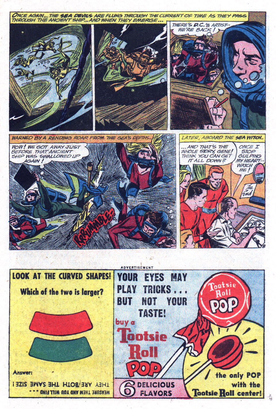 Read online Sea Devils comic -  Issue #13 - 21