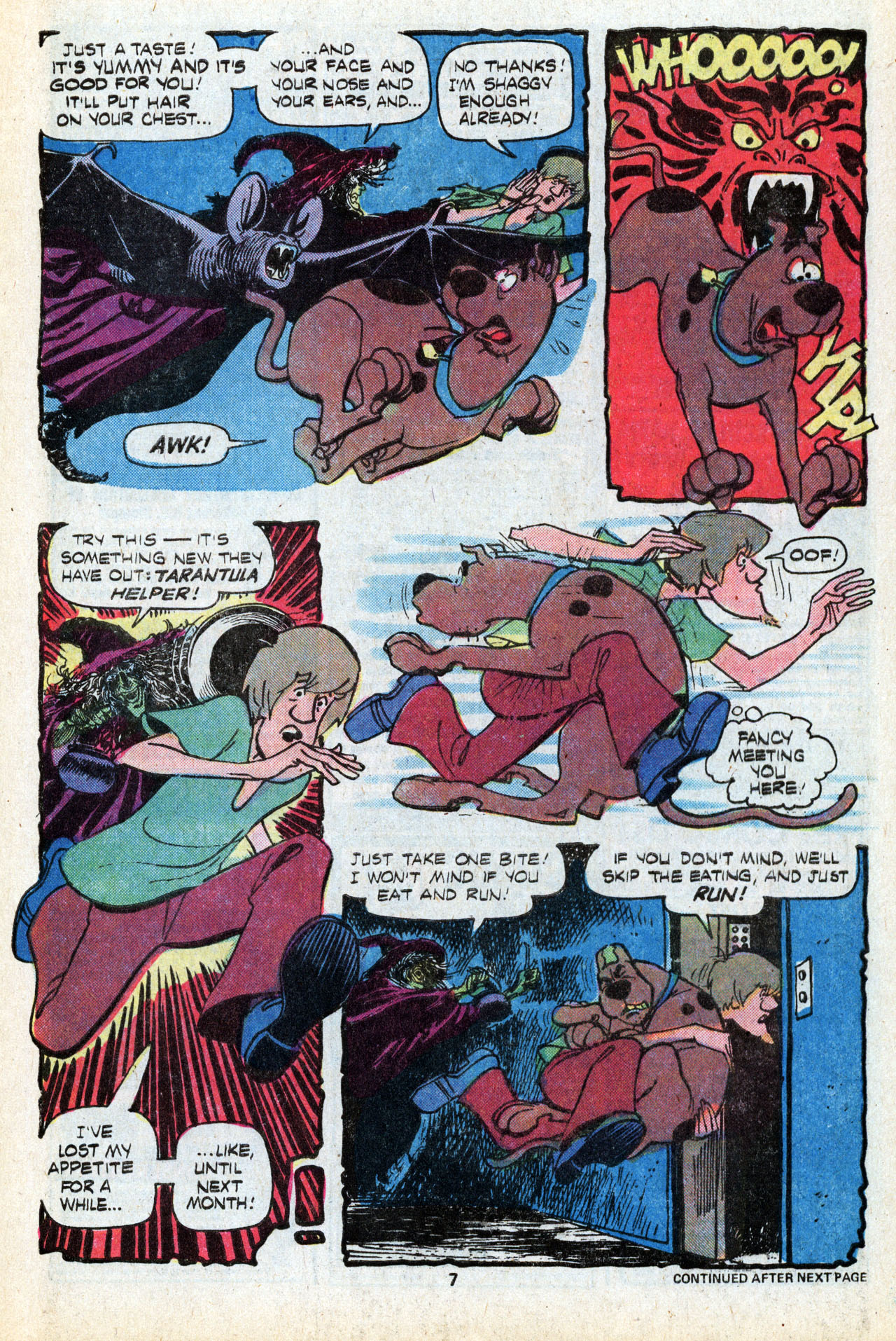 Read online Scooby-Doo (1977) comic -  Issue #5 - 9