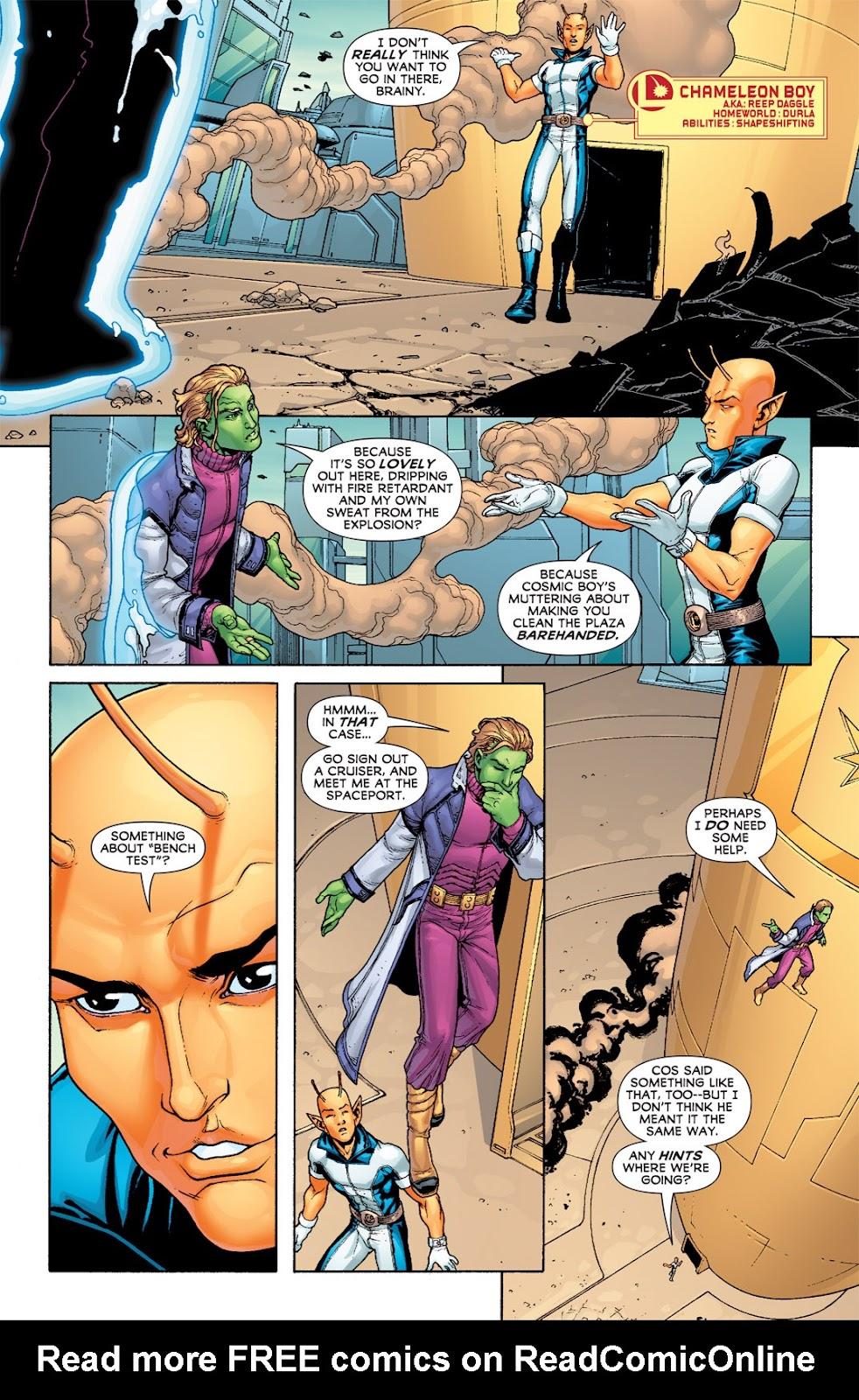 Legion of Super-Heroes (2010) Issue #7 #8 - English 23