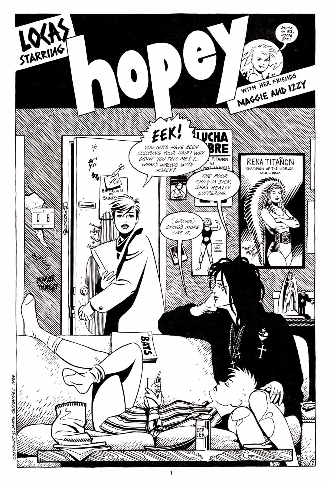 Love and Rockets (1982) Issue #5 #4 - English 3