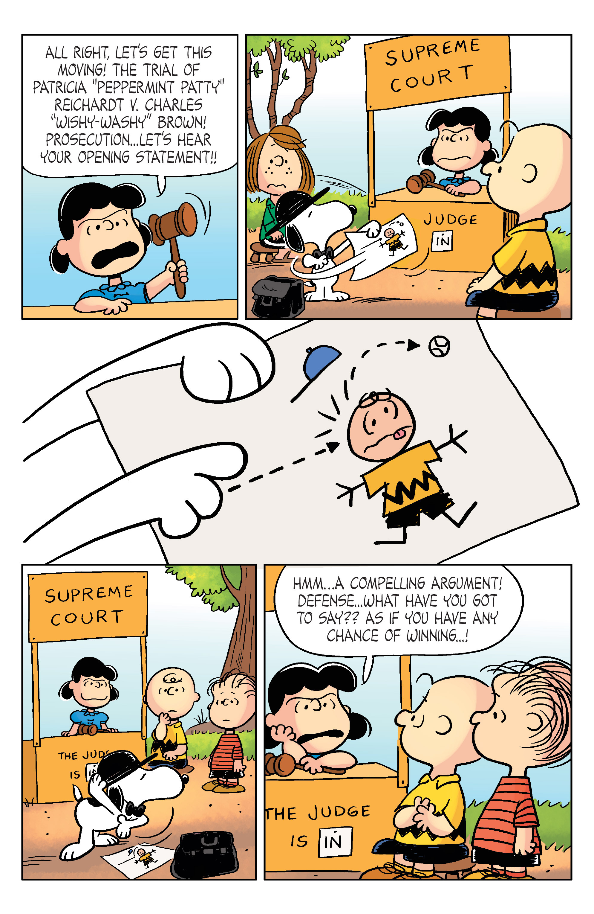 Read online Peanuts (2012) comic -  Issue #20 - 21