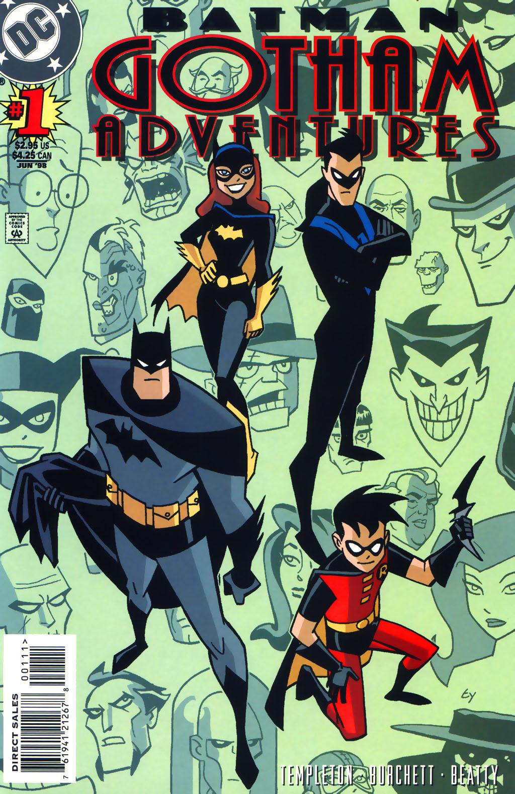 Batman: Gotham Adventures 1 Page 1