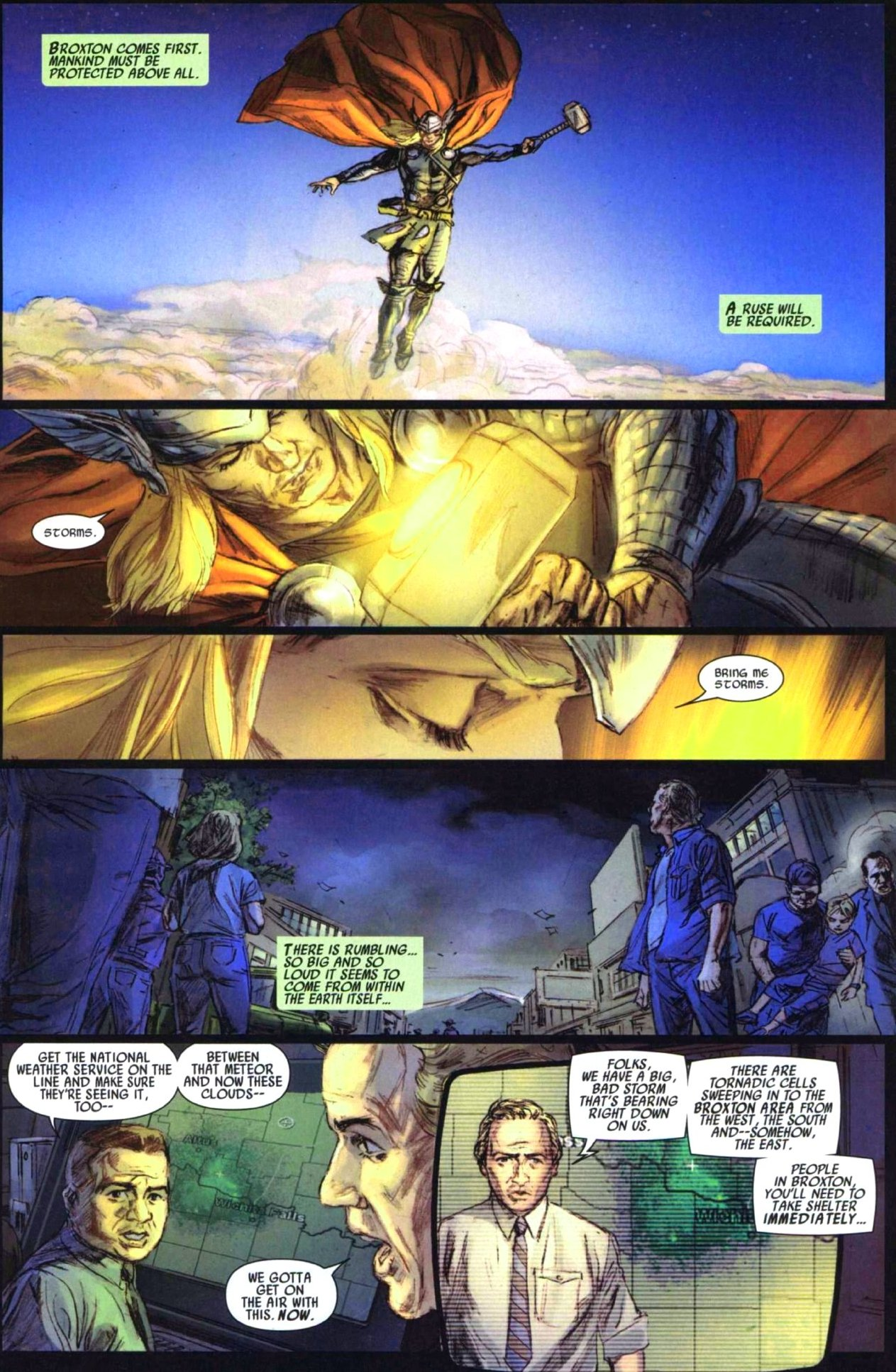 Read online Secret Invasion: Thor comic -  Issue #1 - 12