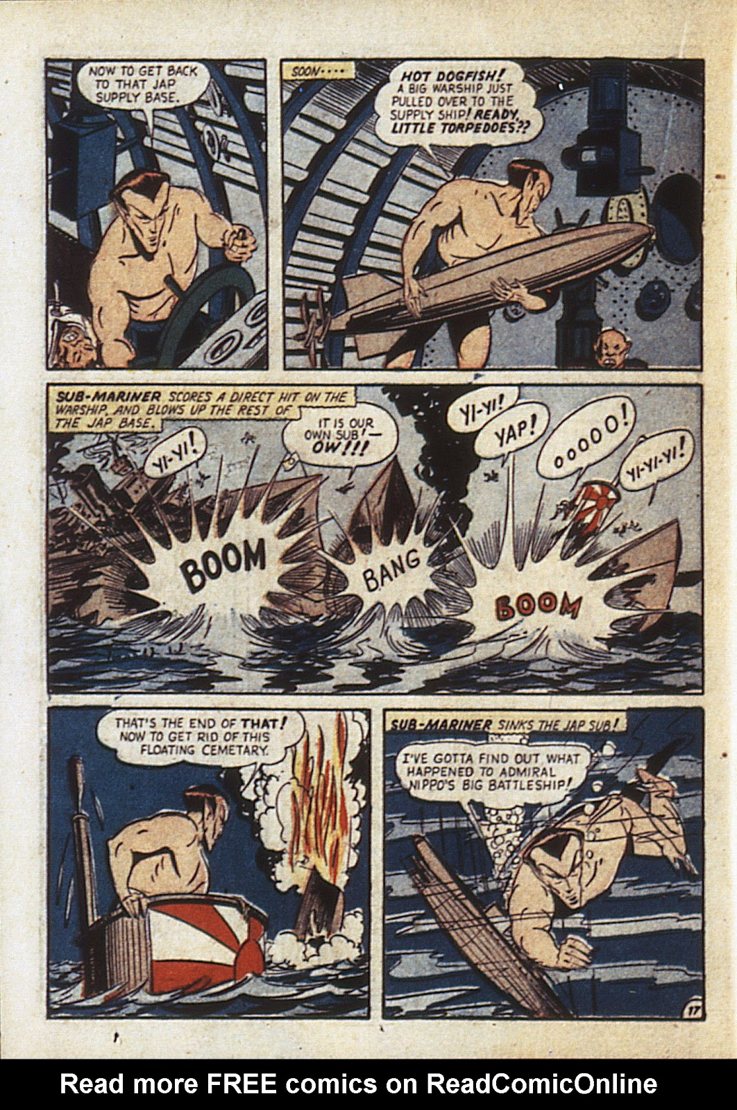 Sub-Mariner Comics Issue #6 #6 - English 41