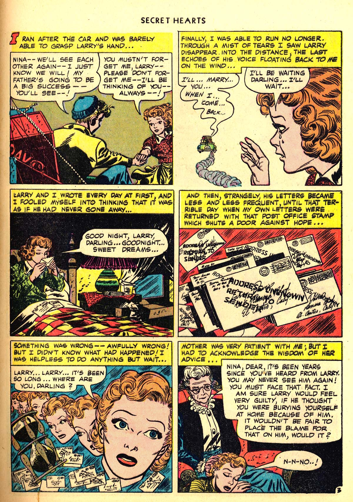 Read online Secret Hearts comic -  Issue #6 - 43