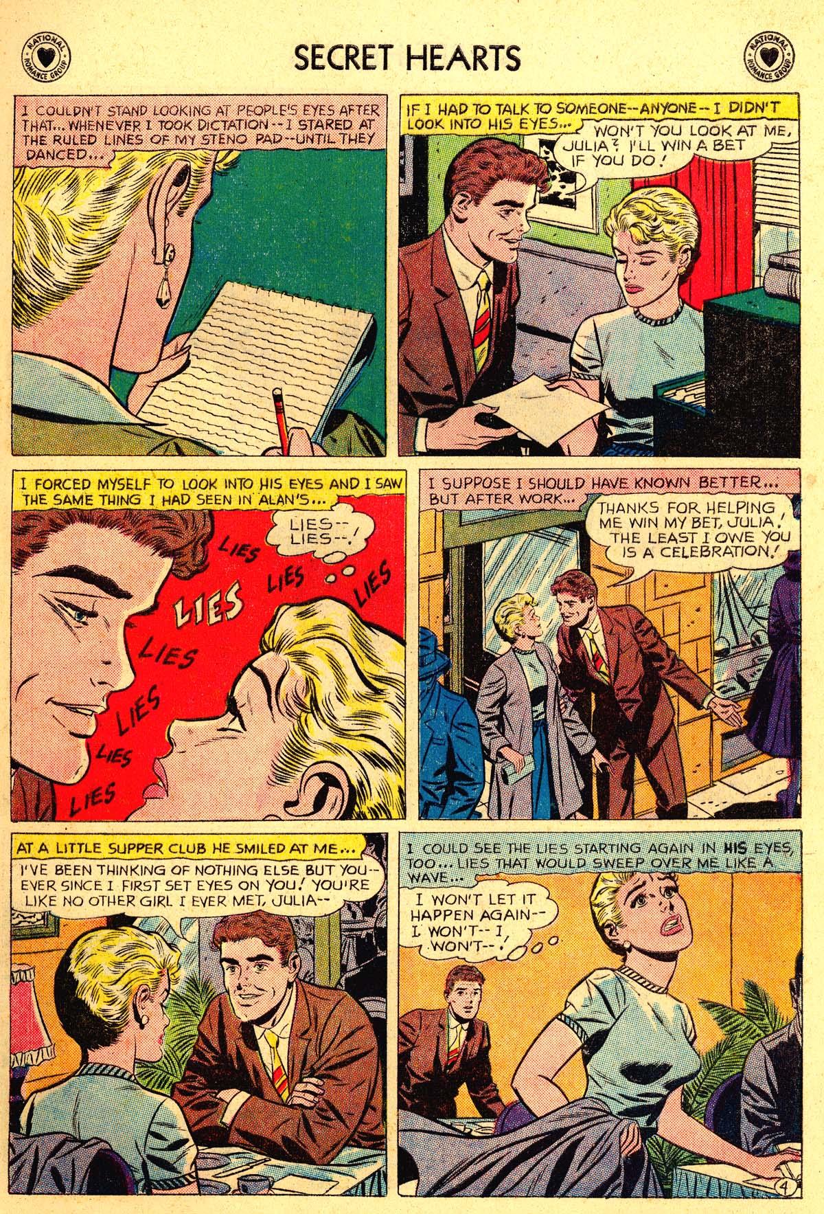 Read online Secret Hearts comic -  Issue #54 - 13