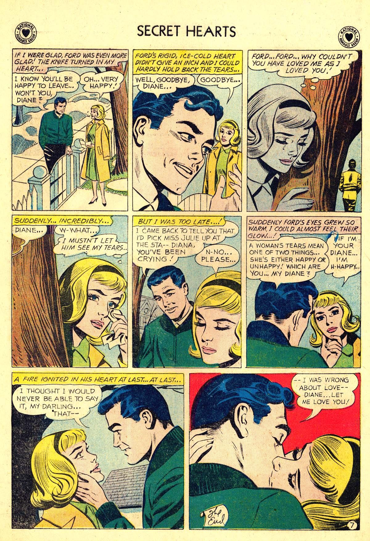Read online Secret Hearts comic -  Issue #64 - 24