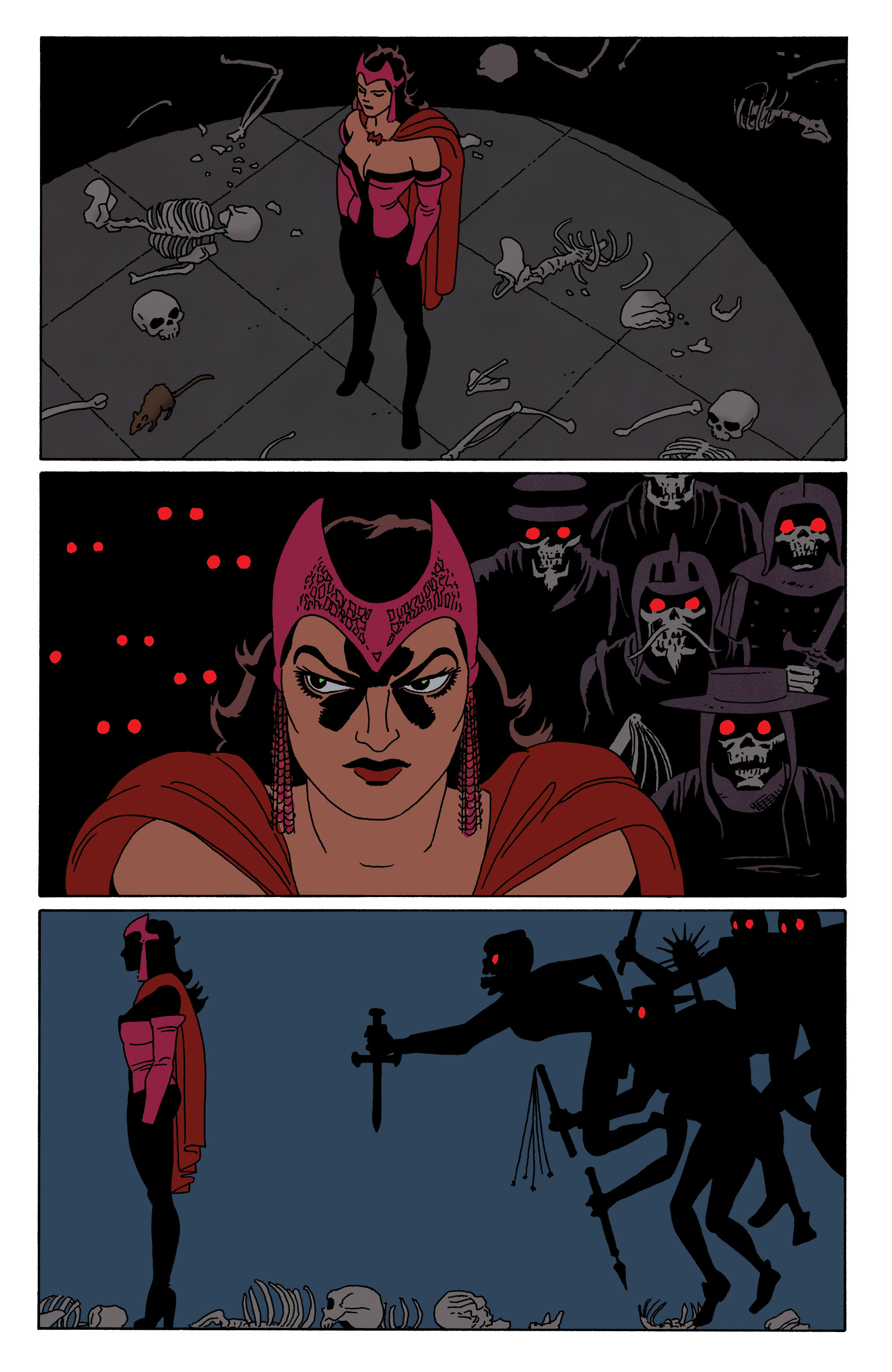 Read online Scarlet Witch (2016) comic -  Issue #5 - 12
