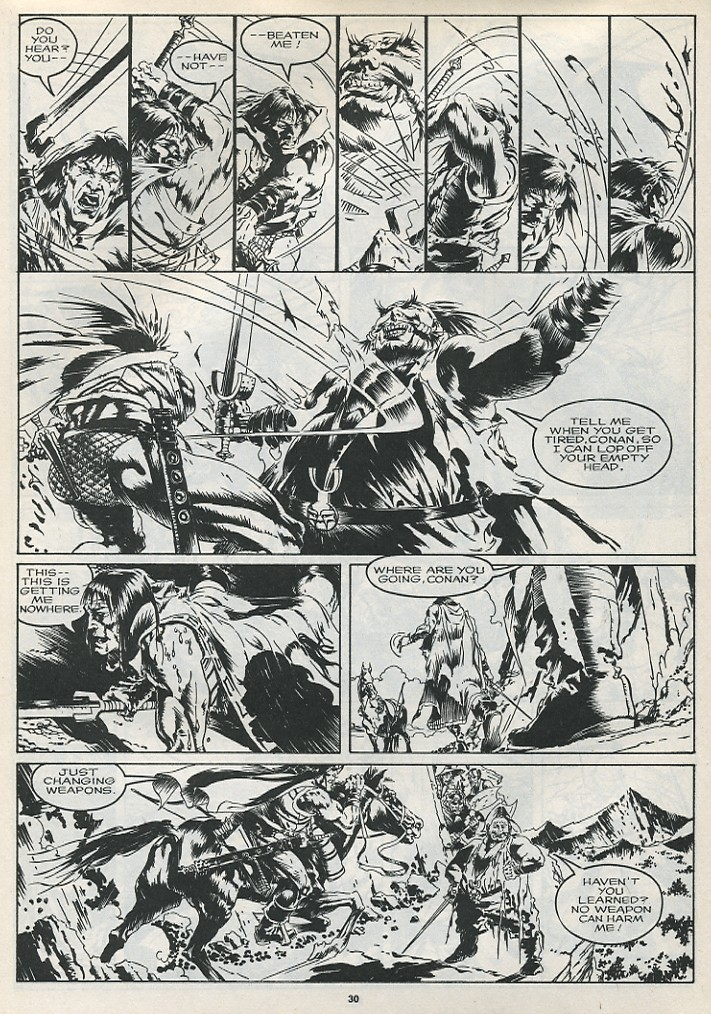 The Savage Sword Of Conan Issue #175 #176 - English 32