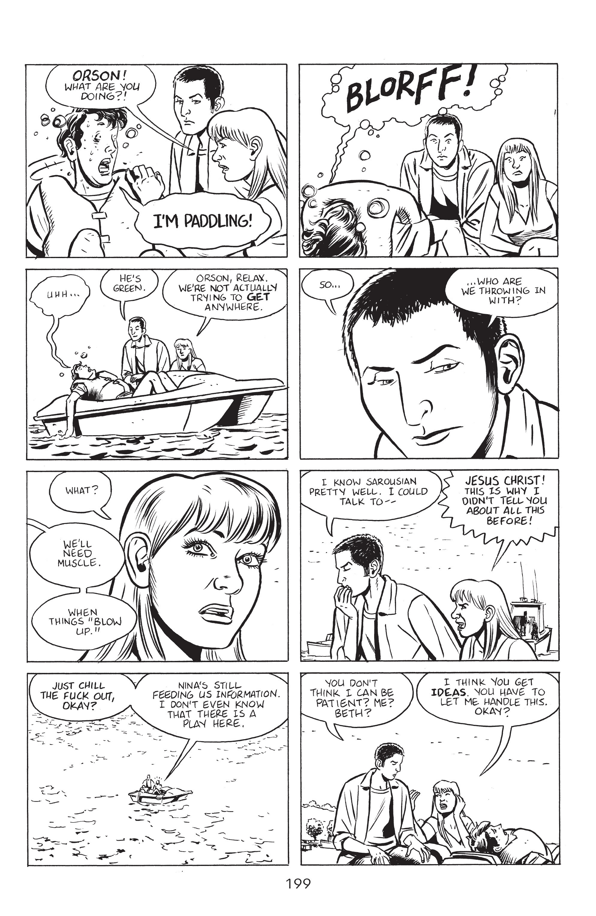 Read online Stray Bullets: Sunshine & Roses comic -  Issue #8 - 5