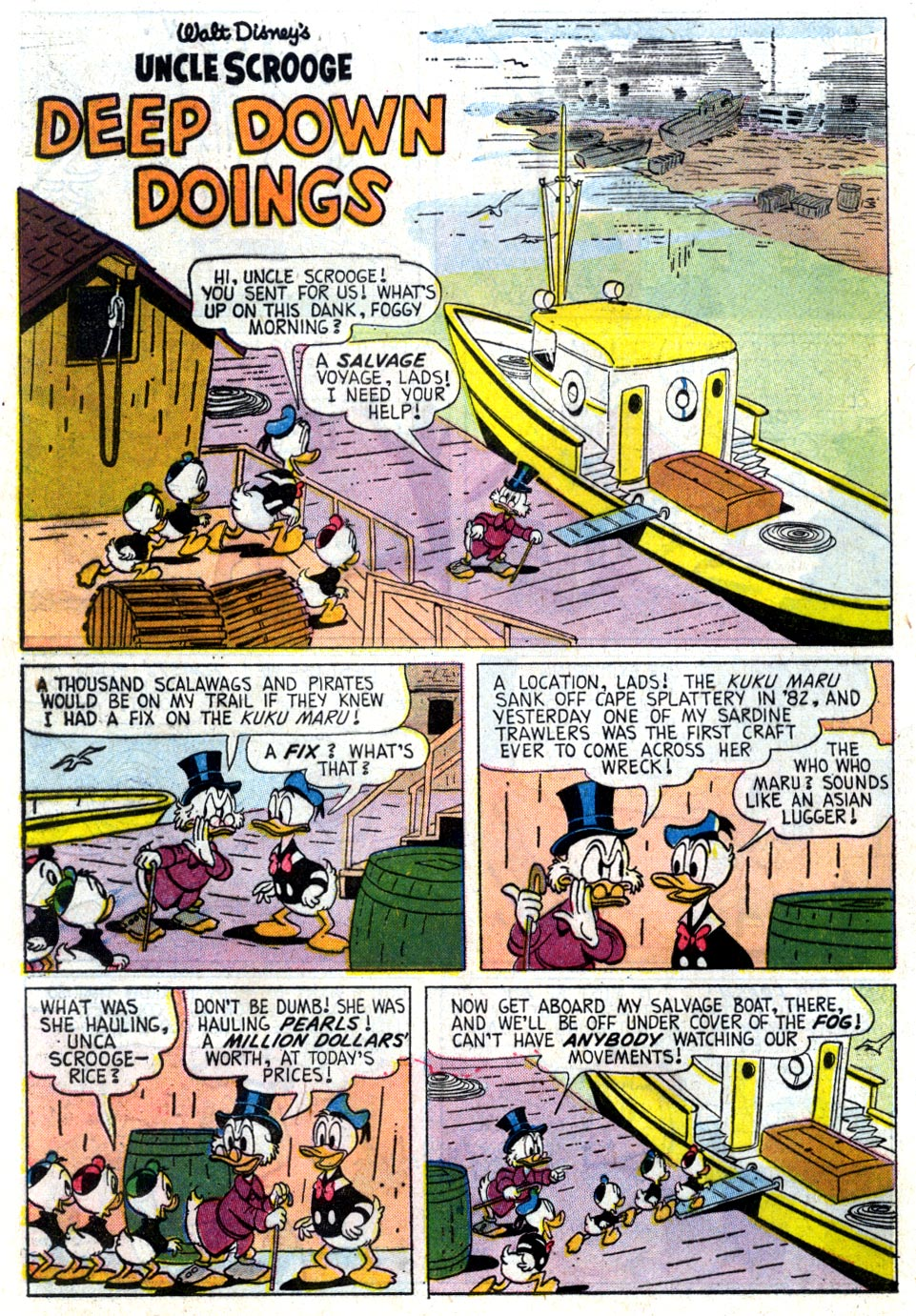 Uncle Scrooge (1953) Issue #37 #37 - English 24