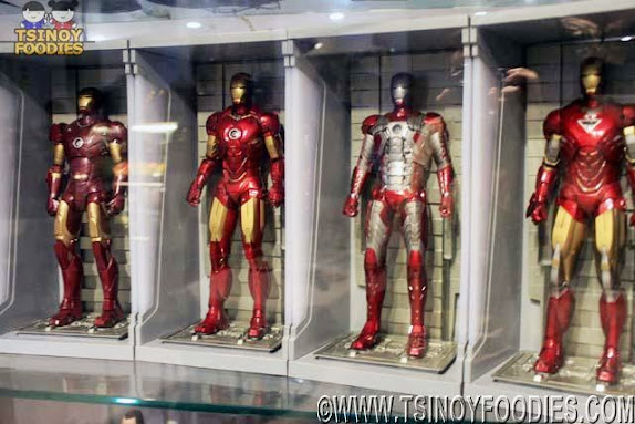 iron man armors toy collection