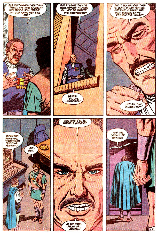 Aquaman (1989) Issue #5 #5 - English 6