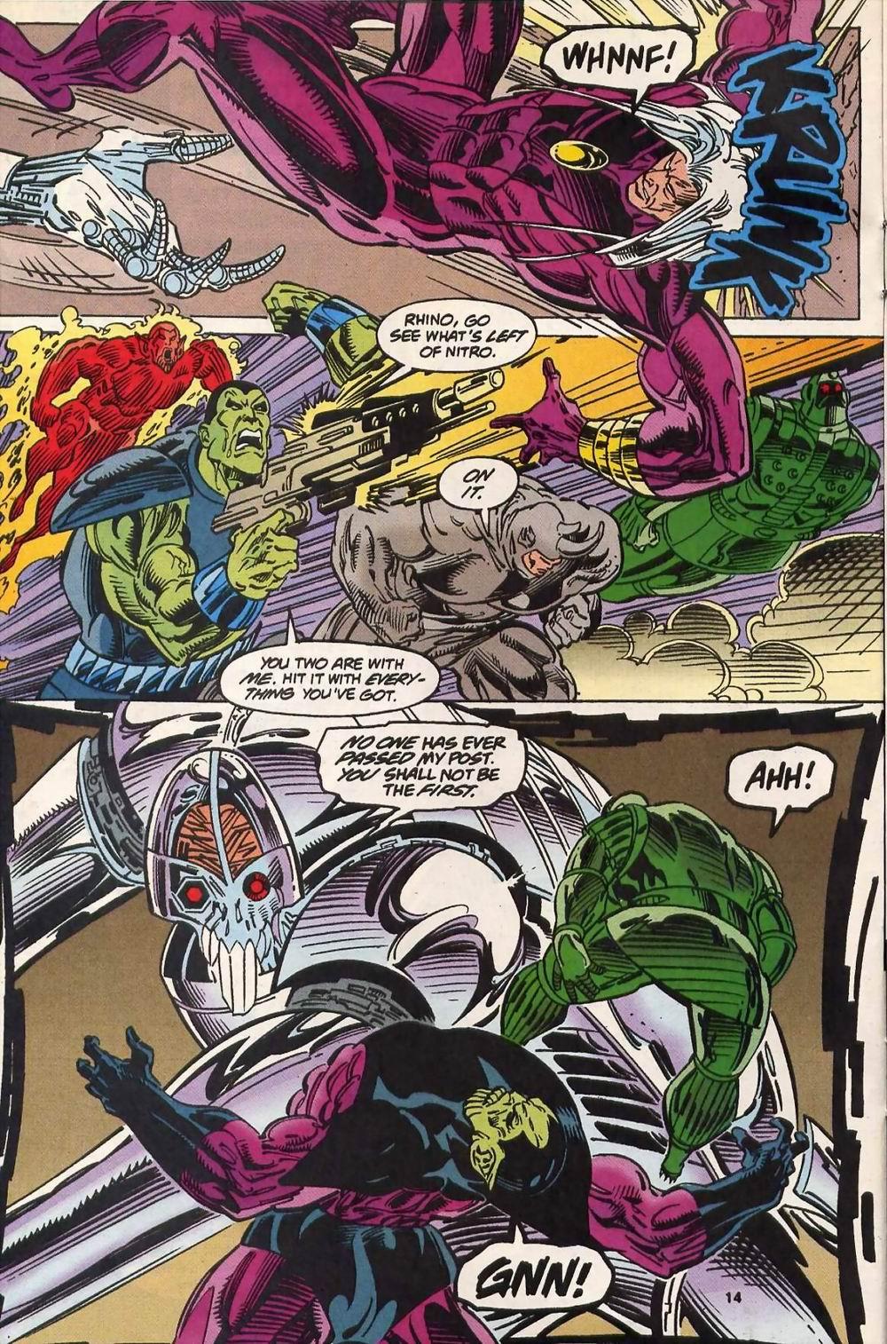 Read online Secret Defenders comic -  Issue #13 - 11