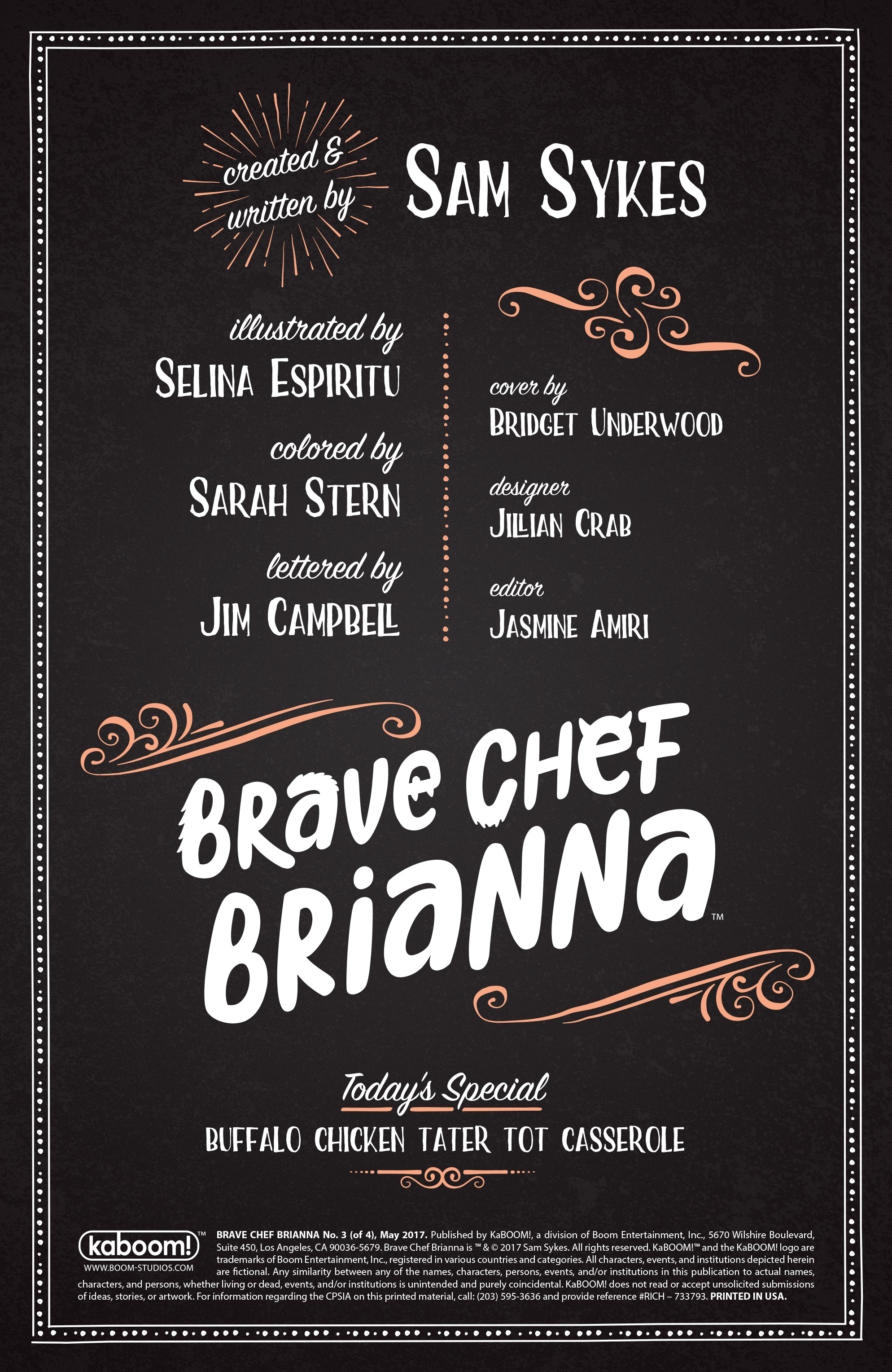 Read online Brave Chef Brianna comic -  Issue #3 - 2