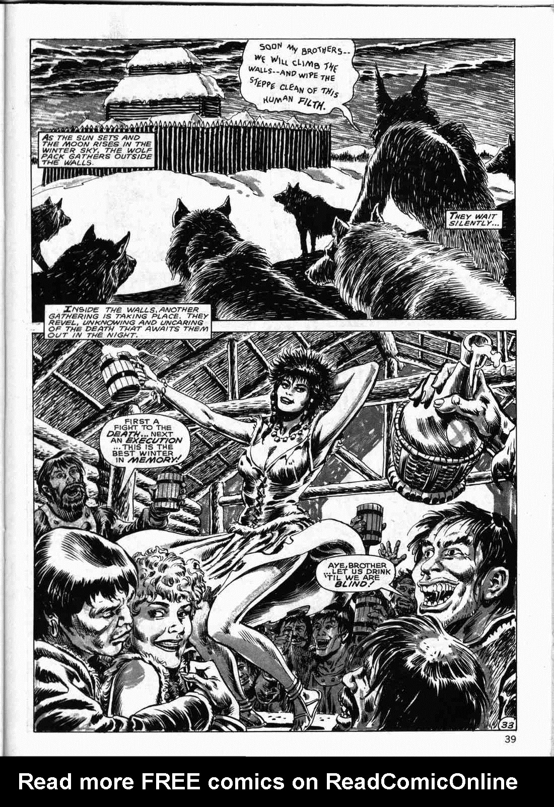 The Savage Sword Of Conan Issue #133 #134 - English 38