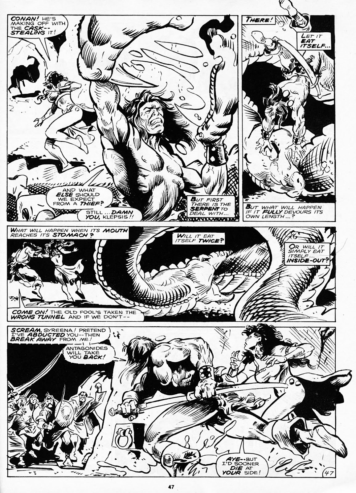 The Savage Sword Of Conan Issue #180 #181 - English 49