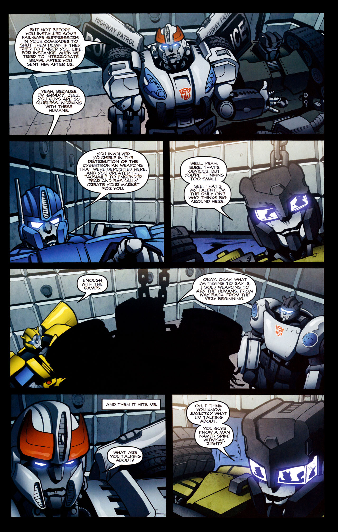 Read online The Transformers (2009) comic -  Issue #29 - 19