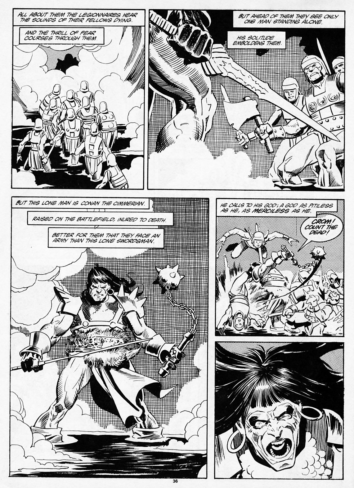 The Savage Sword Of Conan Issue #186 #187 - English 38