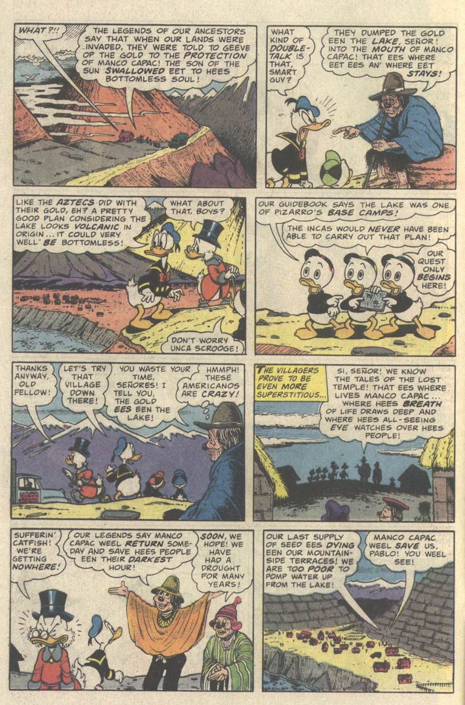 Uncle Scrooge (1953) Issue #219 #219 - English 8