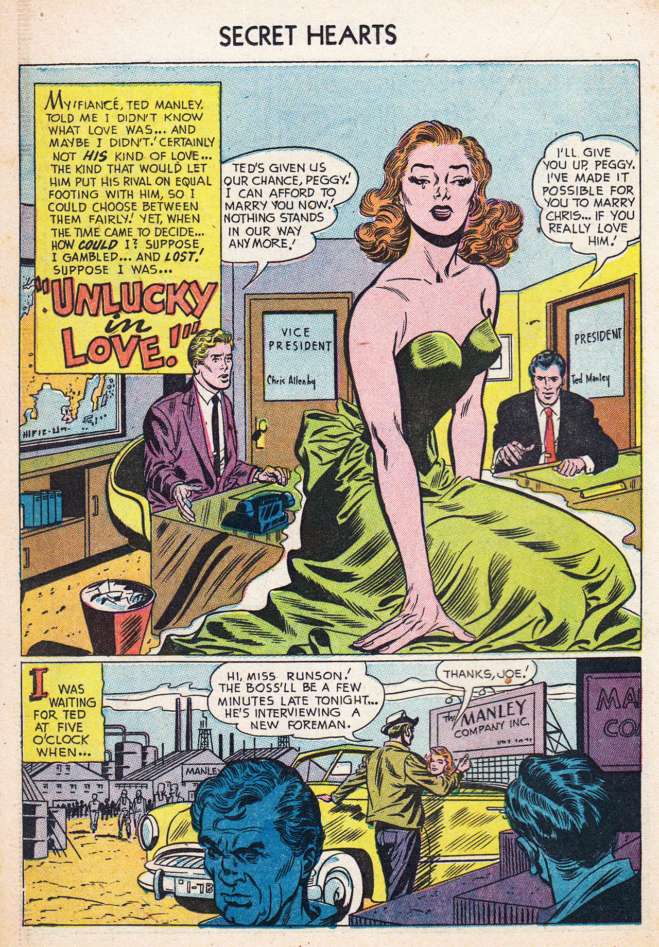 Read online Secret Hearts comic -  Issue #13 - 18