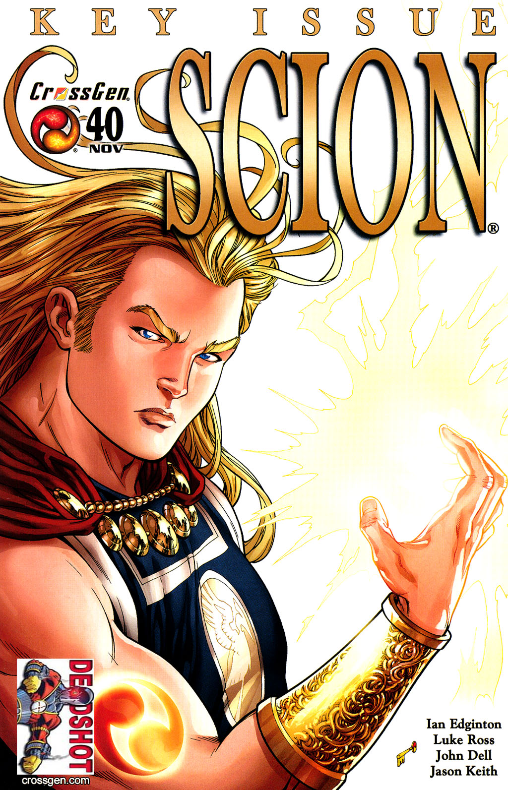 Read online Scion comic -  Issue #40 - 1