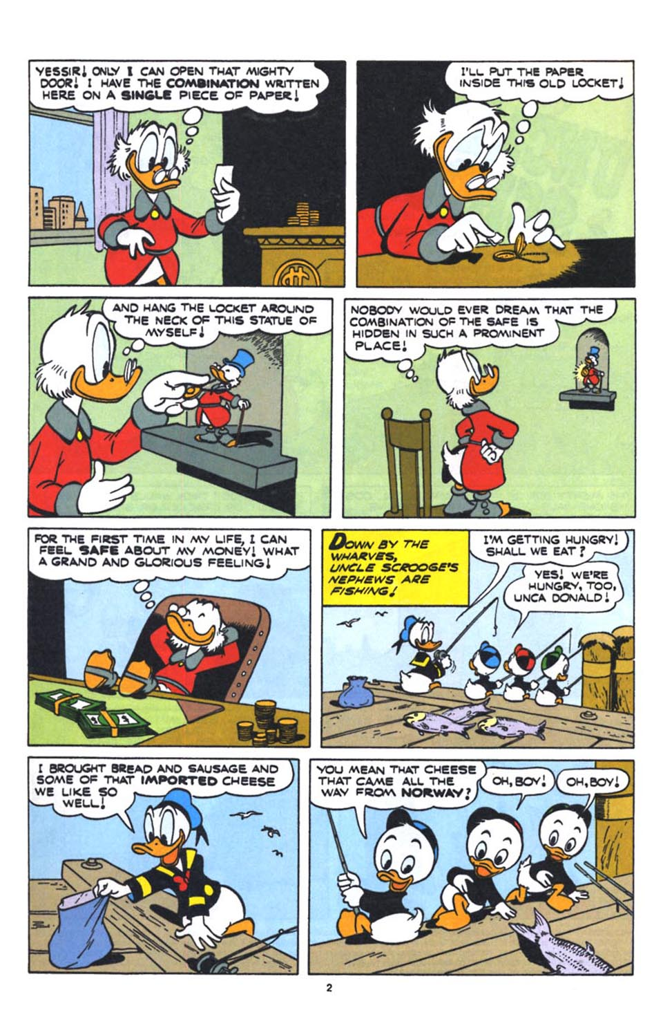 Uncle Scrooge (1953) Issue #250 #250 - English 4