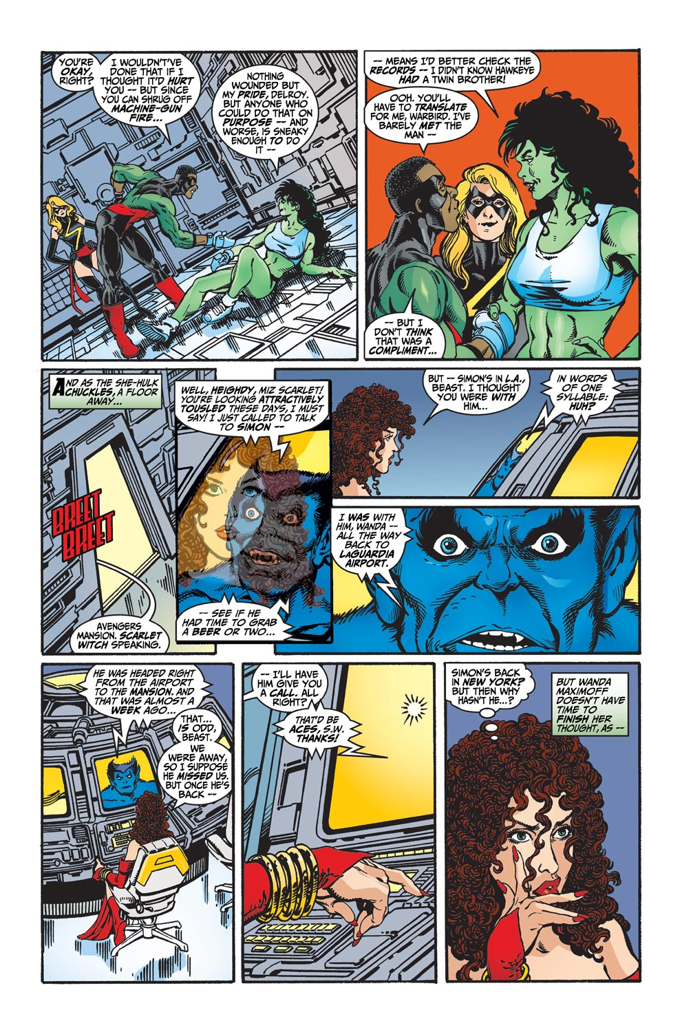 Avengers (1998) 31 Page 9