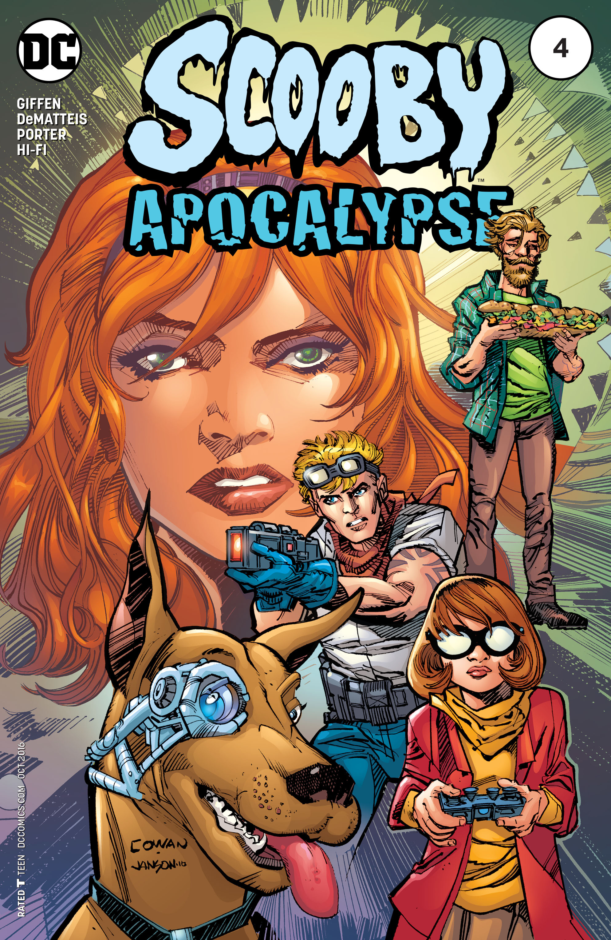 Read online Scooby Apocalypse comic -  Issue #4 - 3