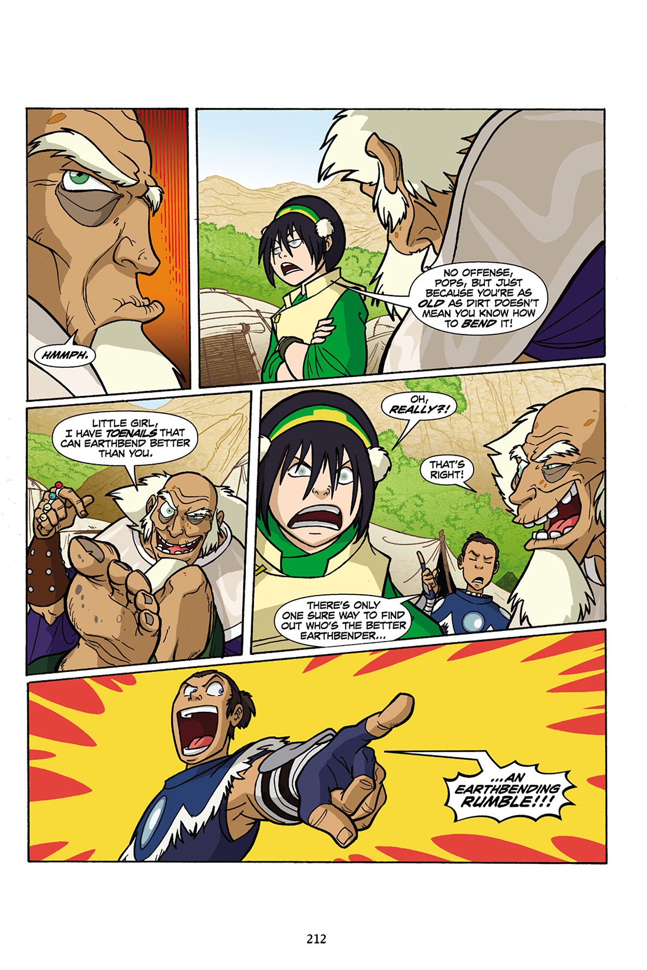 Nickelodeon Avatar: The Last Airbender - The Lost Adventures chap full pic 213