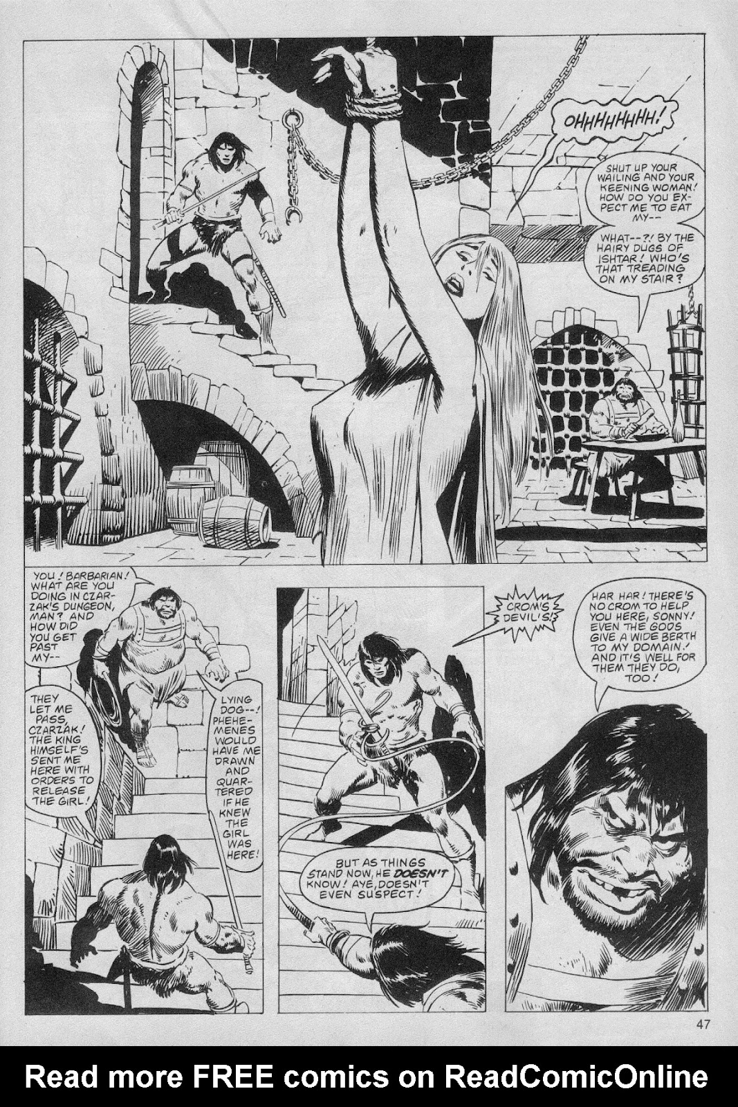 The Savage Sword Of Conan Issue #61 #62 - English 47