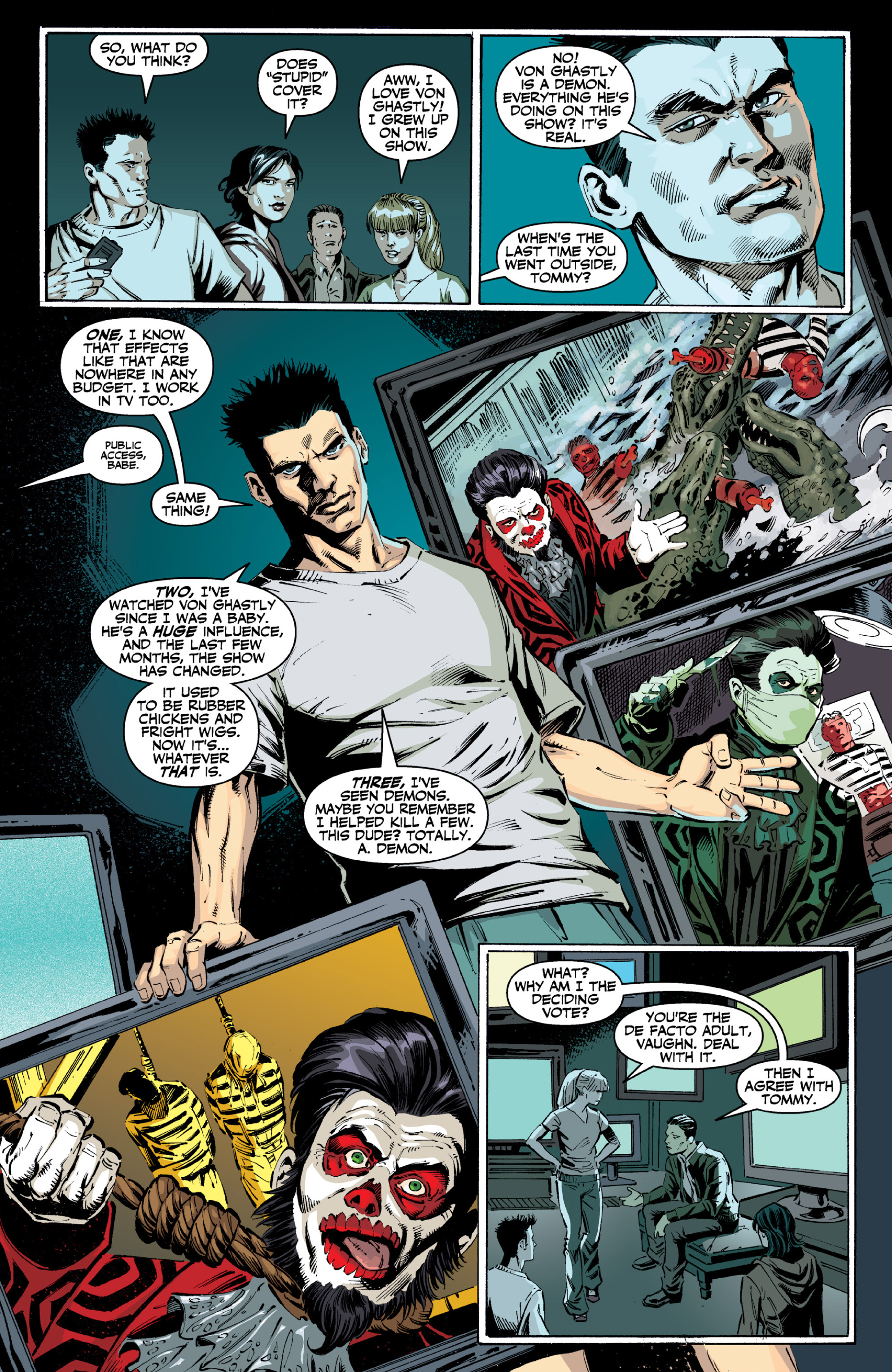 Read online Ghost (2013) comic -  Issue # TPB 2 - 16
